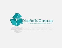 Logo DiseñaTuCasa.es (empresa constructora)