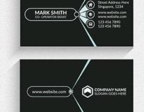 Professional modern custom print staples business card