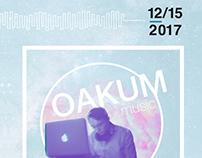 Oakum Concert Poster