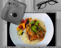 Food Photography for 'Cafe World Street'