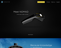 """Nomad"" web page"