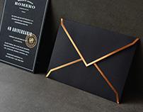 Romero. Invitación 40 Aniversario