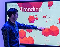 Facebook Trends Visualization