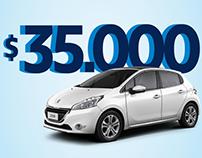Aupesa Peugeot - Campaña Digital