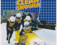 Clean Shower bobsled team