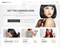 PE Beauty Center free Wordpress theme
