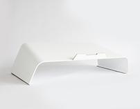 Baneret Laptop Stand - Matte White