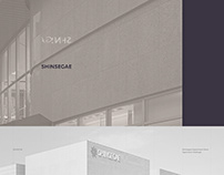 Shinsegae Department Store Application Redesign