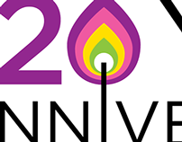 LYRIC 20th anniversary celebration logos