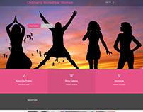 Ordinarily Incredible Women Website