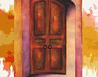 Re-diseño cartel de cine Casa del fin de los tiempo