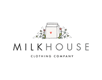 Milk House Brand Identity Design