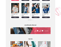 Clothes HomePage