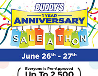 1 Year Anniversary Sale-A-Thon