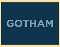 Cartaz Tipográfico - Gotham