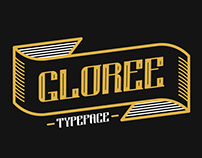 GLOREE (Art Deco Inspired Typeface FREE)