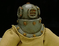 """Aquanaut"" Stop Motion Puppet"