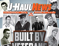 U-Haul News Publication Layout & Design