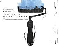Poster for exhibition - Michał Kliś