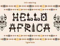 African Font + bonus