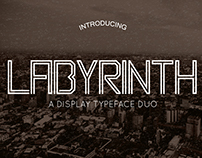 Labyrinth Display Typeface