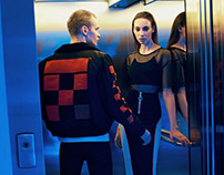 NEON STORY editorial for Au Pont Rouge