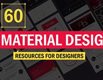 60+ Material Design Resources for Designers