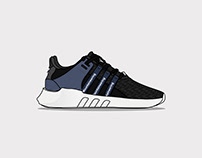 Sneaker Illustration Series: Adidas EQT 93/17 x WM