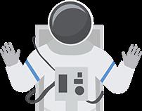 Flat Astronaut