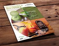Flyer Nutrição e Dietética