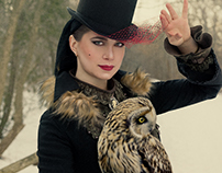 Lady & Owl