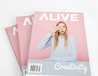 ALIVE Magazine Redesign: The Creativity Issue