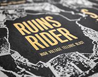Affiche RUINS RIDER (2016)