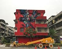 2017 Wallriors street art festival 活動日期: