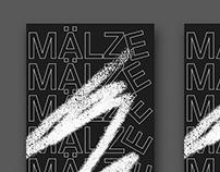 MÄLZE –typographic branding