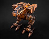 3D Mech Fury