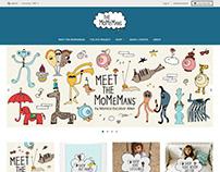 The MoMeMans. Site Design
