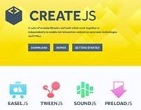 CreateJS code examples