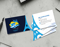 Creative Business Card for Tourism Agency