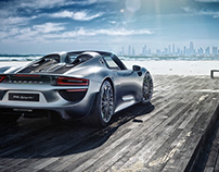 CGI Porsche Spyder