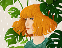 Monstera girl