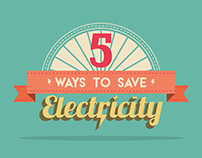 5 Ways to Save Electricity Motion Graphics