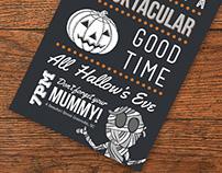 Kid's Halloween Party Invitation