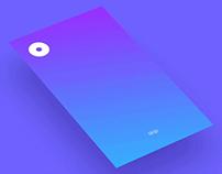 UI Concept : COGNITO a cognitive music player.