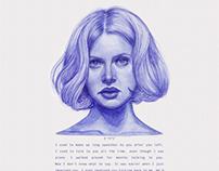 Ballpoint Pen Portraits - Movies