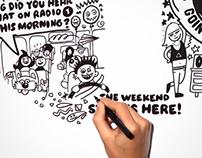 BBC Radio 1 animation