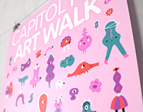Capitol Hill Art Walk - February Poster