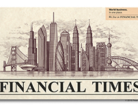 Financial Times of London Header by Steven Noble