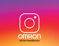 Omron Healthcare Instagram views