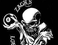 Zach's Longshots Pool League Logo